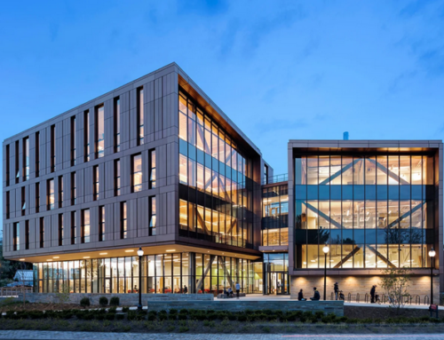 Olver Design Building at UMass wins an AIA COTE® Top Ten Award
